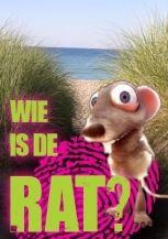 Wie is de Rat op het strand