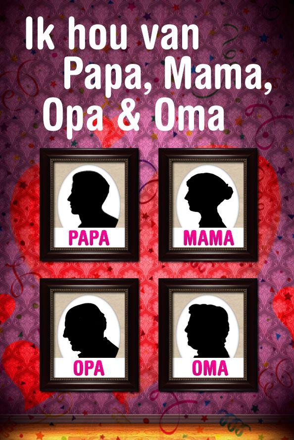 Ik Hou van Paps, Mams, Opa en Oma