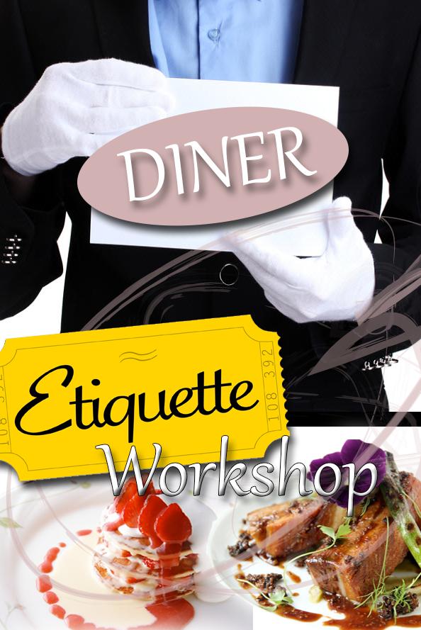 Etiquette diner met butler