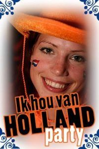 Ik Hou Van Holland Party in Amsterdam