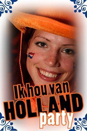 Ik Hou Van Holland Party in Amsterdam