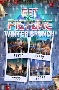 Get the Picture Winter Dinner Game