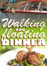 Walking and Floating Dinner Leiden